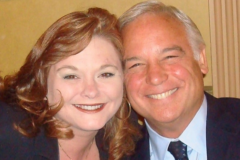 Stacy and Jack Canfield at the Stadium Theatre