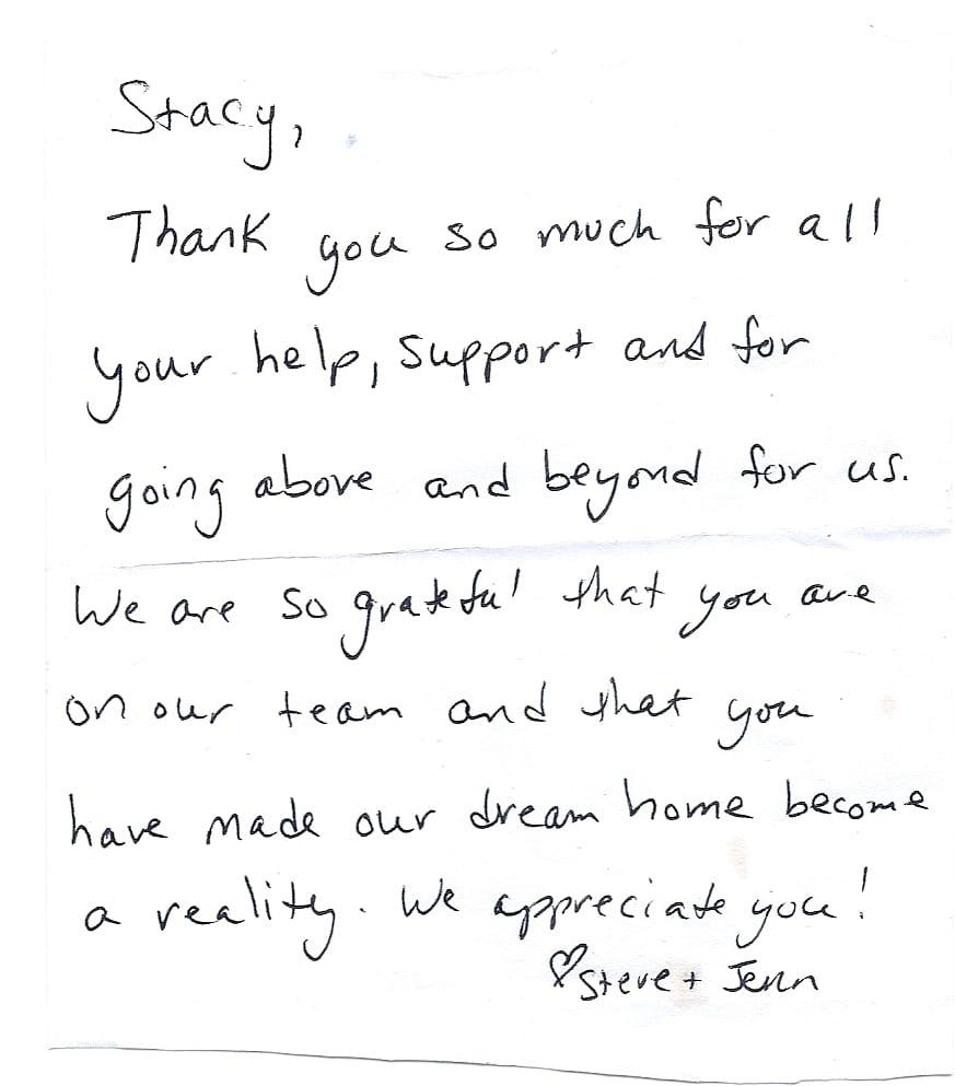 Testimonial Steve and Jenn