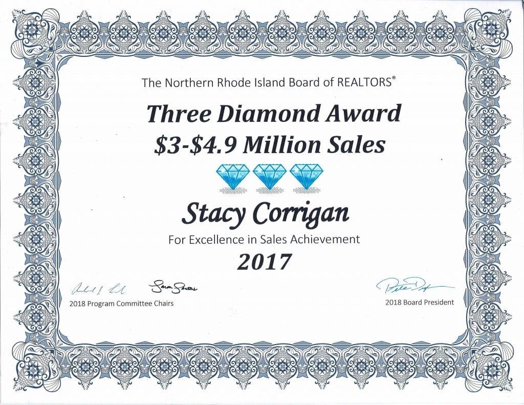 Diamond Sales Award 2017